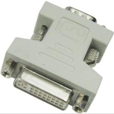 adaptador dvi a vga hembra / macho convertidor