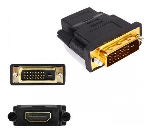 adaptador dvi-d dual link 24+1 digital a hdmi hembra