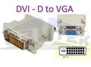 adaptador dvi d dual link a vga