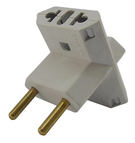 adaptador eletrico t benjamin tomada 200 pçs