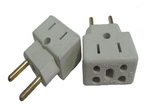 adaptador elétrico tomada bob esponja 125 pçs quadrado