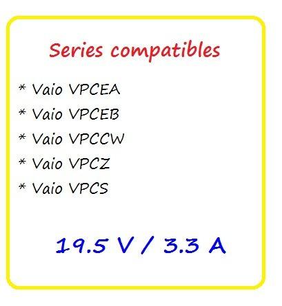 adaptador eliminador original sony vaio vgp-ac19v49 puebla