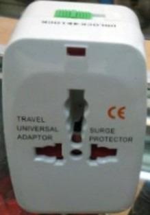 adaptador enchufes universal multi viajero c/funda mscompu10