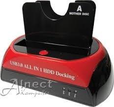 adaptador estacion doble de disco 3,5/2,5 a usb 3.0 sa
