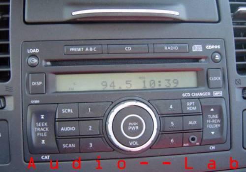 Adaptador Frente Estereo Nissan Tiida Np300 07 16 Doble