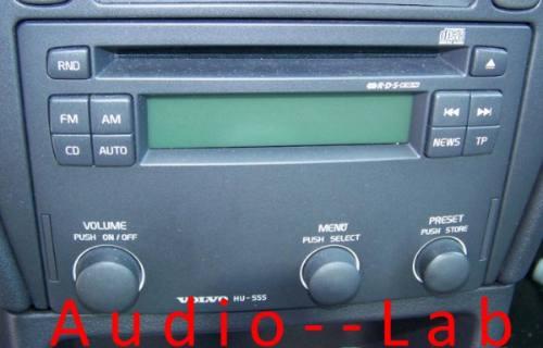 adaptador frente p estereo volvo s40, s70, v40, v70 2000-03