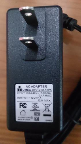 adaptador fuente de poder  12v 1a  arduino, camara cinta led