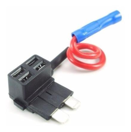 adaptador fusible standar 12v instala gps sin cortar cables