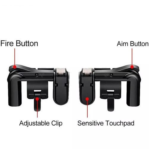 adaptador gatilho l2 r2 para celular pubg, fortnite freefire