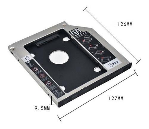 adaptador hd 3,5 sata usb desktop ps3 xbox pc + leitor caddy