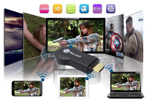 adaptador hdmi chromecast anycast ezcast wecast full1080p