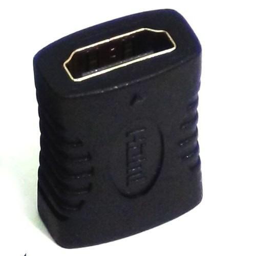 adaptador hdmi femea x femea emenda extensor conector d cabo