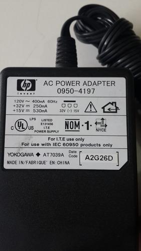 adaptador hp 0950 4197 punta negra