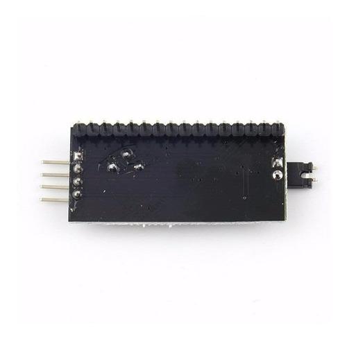 adaptador i2c display lcd pcf8574 paralelo serie arduino