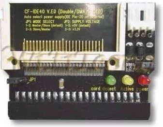 adaptador ide para cartão de memória compact flash 40pin