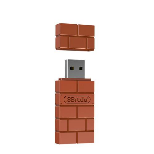adaptador inalámbrico 8bitdo p/nintendo switch/windows/mac