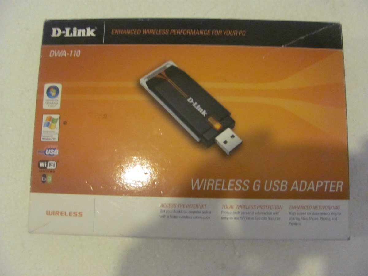 D-LINK WIRELESS G USB ADAPTER DWA-110 TREIBER WINDOWS 8