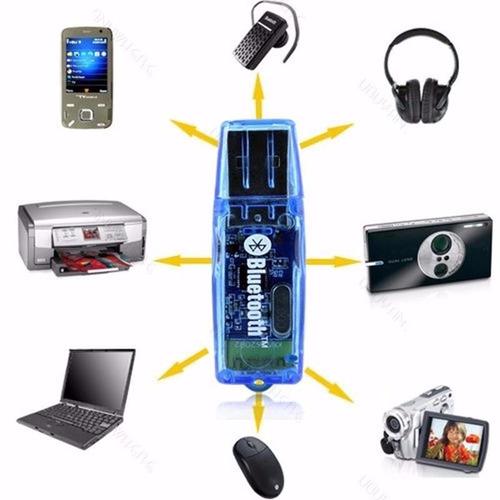 adaptador inalámbrico dongle bluetooth pc portátil usb 2.0