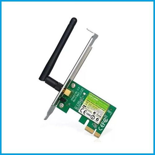 adaptador inalambrico pci express tp-link tl-wn781nd 150mb