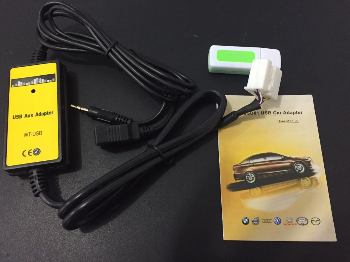 Adaptador Interface Usb Aux Honda New Civic Crv Fit
