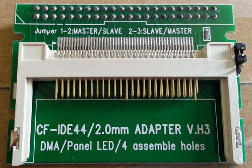 adaptador interno cartao cf para amiga 600 e 1200