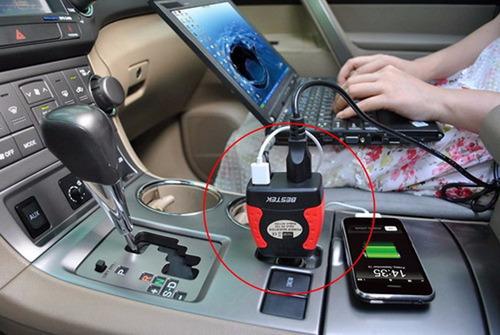 adaptador inversor convertidor de corriente para auto 150w