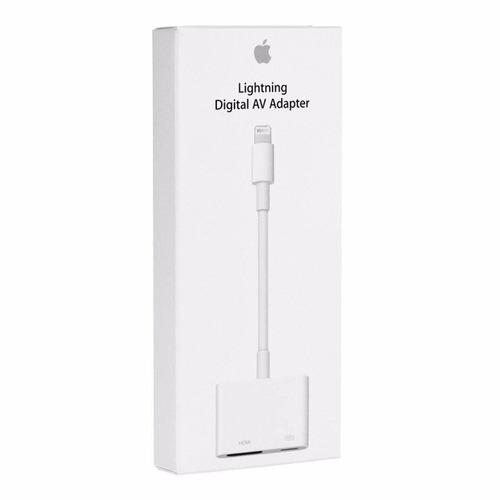 adaptador ipad air,mini, iphone 5 6 plus,touch 6 hdmi apple