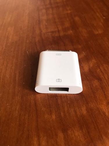 adaptador ipad iphone clasico 30 pines usb camaras pendrives