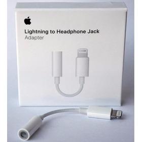 Adaptador Jack Lightning Audífonos iPhone 7 Apple Original
