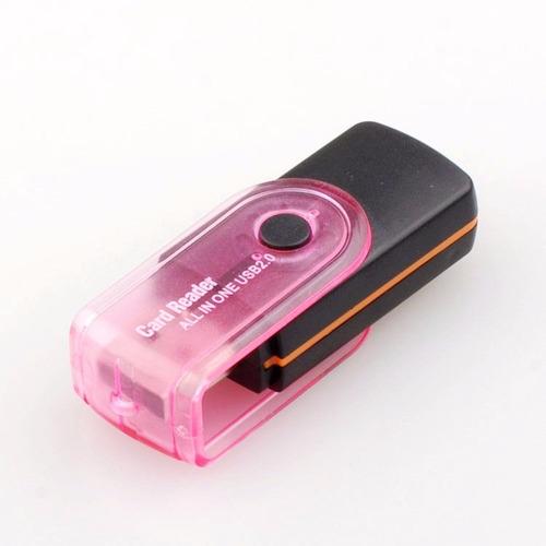 adaptador leitor cartão usb universal camera celular psp a64