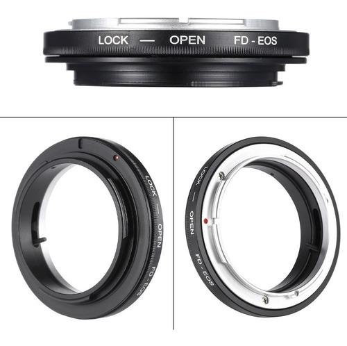adaptador lentes canon fd a canon eos fd-eos