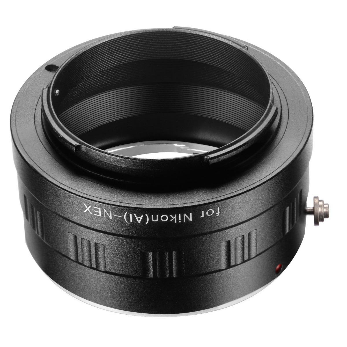 Adaptador Lentes Nikon G/cámaras Sony Nex Montura E A7 Ilse ...