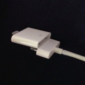 adaptador lighting a 30 pines ipad iphone apple mac