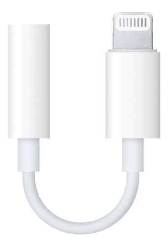 adaptador lightning a audio 3,5mm iphone 7 8 x - factura a / b