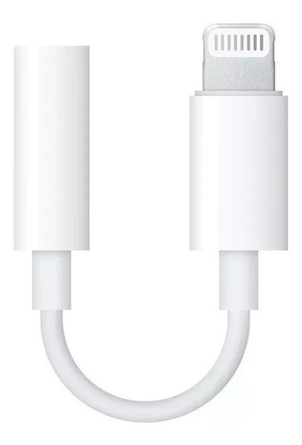 adaptador lightning audio 3,5mm iphone 7 8 x 11 apple jack