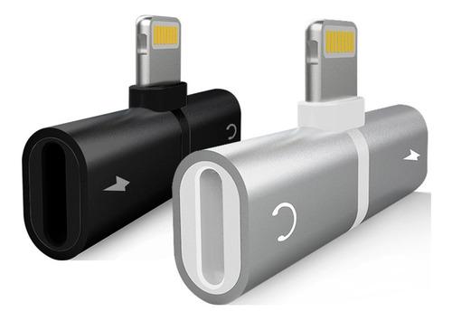 adaptador lightning audio carrega iphone 7 11/pro/max xs max
