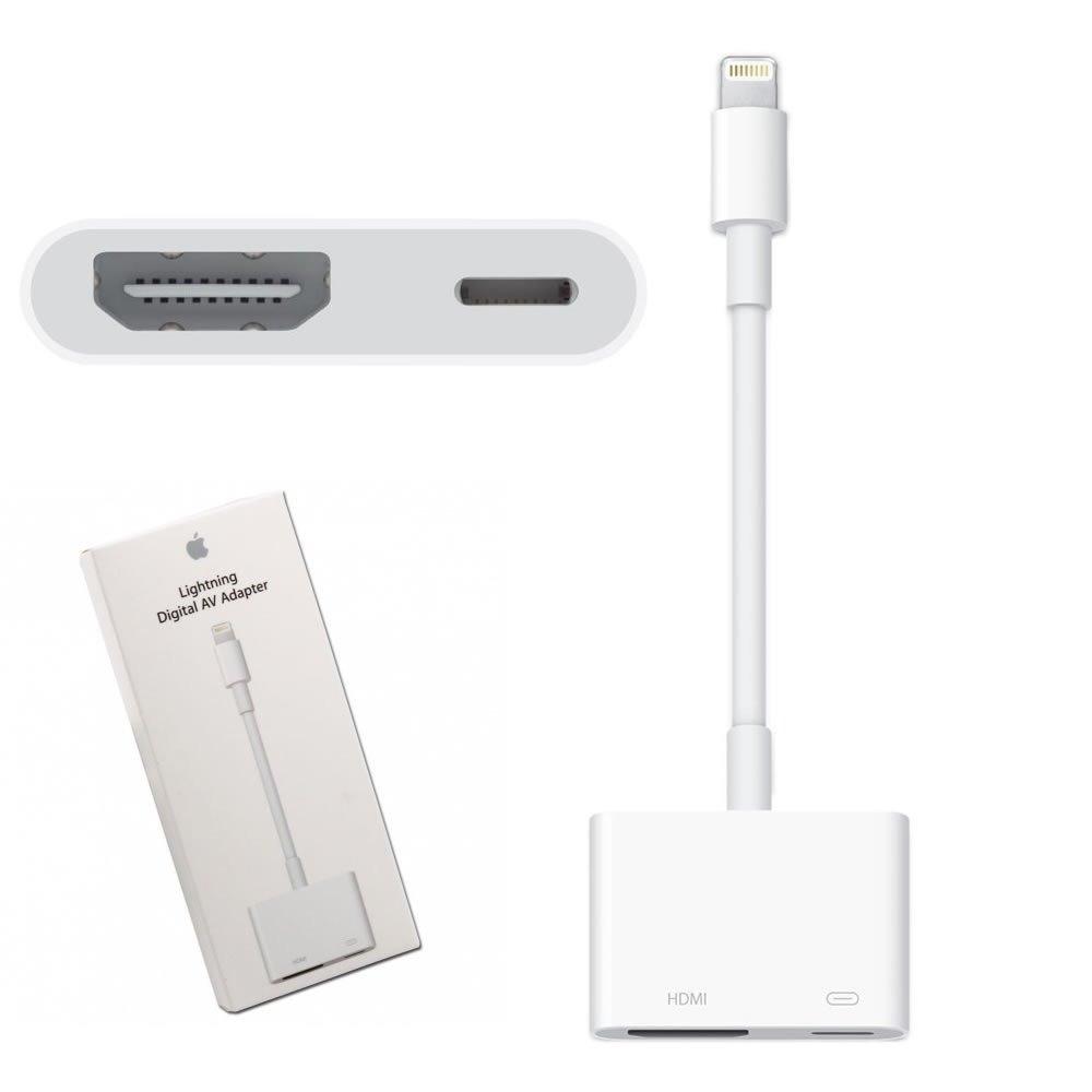 2e60a013cd3 adaptador lightning av digital/hdmi iphone 5 e 6 ipad apple. Carregando zoom .