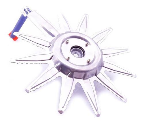 adaptador lâmina protetor de corte para roçadeira inji