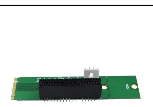adaptador m.2 pci express x1 x4  m2- para mineração
