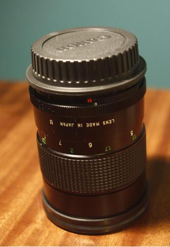 adaptador m42 a canon eos ef con chip af y tapa canon