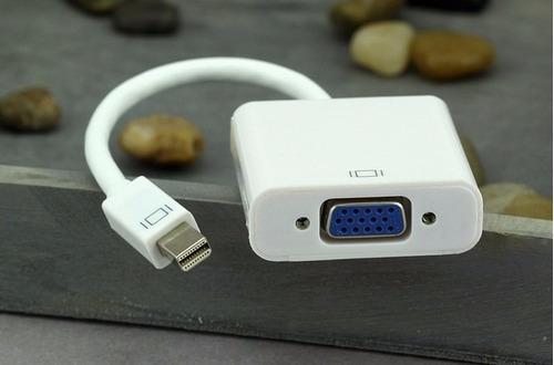 adaptador macbook vga thunderbolt mini displayport proyector
