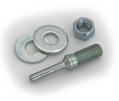 adaptador mandril furadeira p/ discos de polir furo de 13 mm