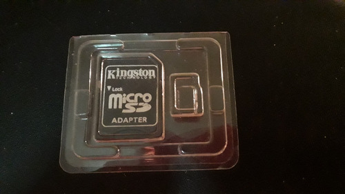 adaptador memoria micro sd a sd marca kingston