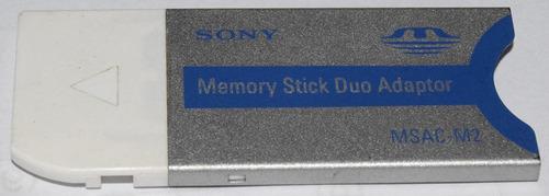 adaptador memory stick duo marca sony msac-m2 100% original