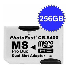 Adaptador Micro Sd Photofast Cr-5400 P/ Memory Stick Pro Duo