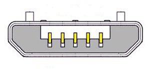 adaptador micro usb macho 5 pines a usb hembra