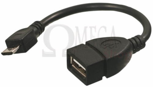 adaptador micro usb p/ usb fêmea tablet motorola xoom