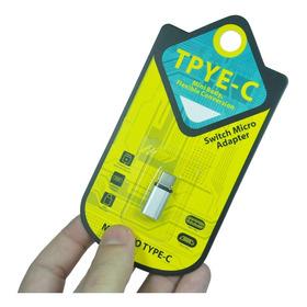 Adaptador Micro Usb Para Tipo C / Usb C / Type C