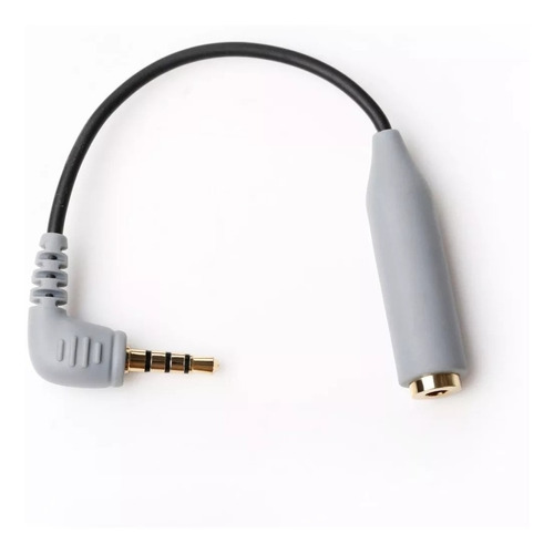 adaptador microfono mini plug 3,5mm trs a trrs boya by-cip