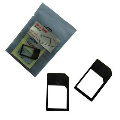 adaptador microsim sim normal galaxy s3, iphone 4, 4s,